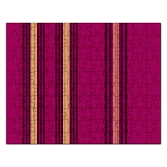 Stripes Background Wallpaper In Purple Maroon And Gold Rectangular Jigsaw Puzzl