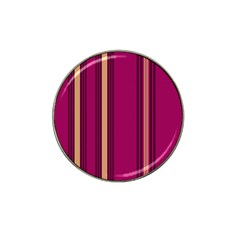 Stripes Background Wallpaper In Purple Maroon And Gold Hat Clip Ball Marker (10 pack)