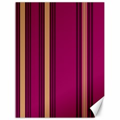 Stripes Background Wallpaper In Purple Maroon And Gold Canvas 12  X 16