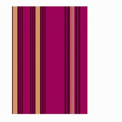 Stripes Background Wallpaper In Purple Maroon And Gold Large Garden Flag (two Sides)