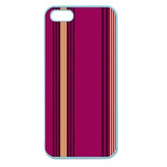 Stripes Background Wallpaper In Purple Maroon And Gold Apple Seamless iPhone 5 Case (Color)