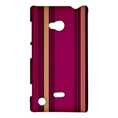 Stripes Background Wallpaper In Purple Maroon And Gold Nokia Lumia 720