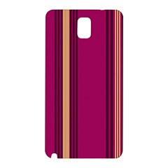 Stripes Background Wallpaper In Purple Maroon And Gold Samsung Galaxy Note 3 N9005 Hardshell Back Case