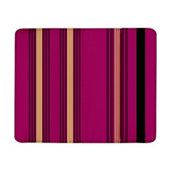 Stripes Background Wallpaper In Purple Maroon And Gold Samsung Galaxy Tab Pro 8 4  Flip Case