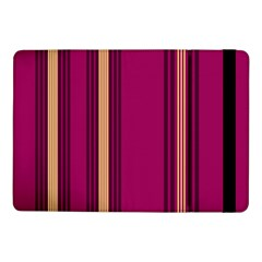 Stripes Background Wallpaper In Purple Maroon And Gold Samsung Galaxy Tab Pro 10 1  Flip Case