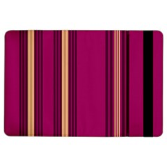Stripes Background Wallpaper In Purple Maroon And Gold Ipad Air 2 Flip