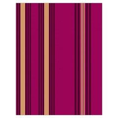 Stripes Background Wallpaper In Purple Maroon And Gold Drawstring Bag (large)
