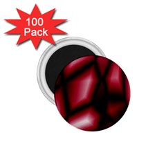 Red Abstract Background 1 75  Magnets (100 Pack)