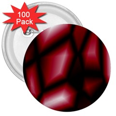 Red Abstract Background 3  Buttons (100 pack)