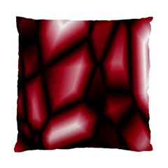 Red Abstract Background Standard Cushion Case (two Sides)