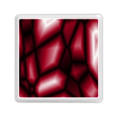 Red Abstract Background Memory Card Reader (square)