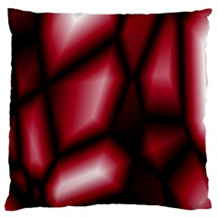 Red Abstract Background Large Cushion Case (One Side)