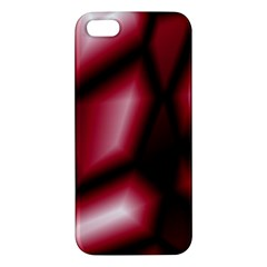 Red Abstract Background Apple iPhone 5 Premium Hardshell Case