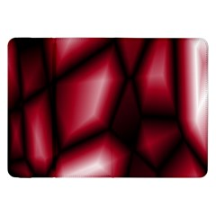 Red Abstract Background Samsung Galaxy Tab 8.9  P7300 Flip Case