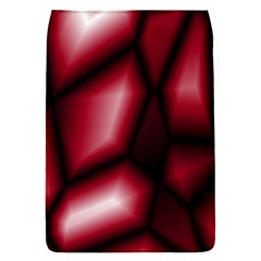 Red Abstract Background Flap Covers (S)