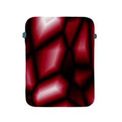 Red Abstract Background Apple iPad 2/3/4 Protective Soft Cases