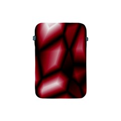 Red Abstract Background Apple Ipad Mini Protective Soft Cases