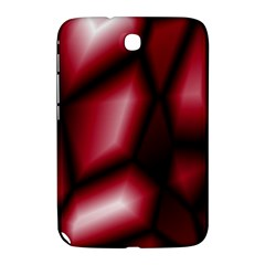 Red Abstract Background Samsung Galaxy Note 8.0 N5100 Hardshell Case