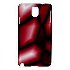 Red Abstract Background Samsung Galaxy Note 3 N9005 Hardshell Case