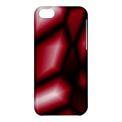 Red Abstract Background Apple iPhone 5C Hardshell Case