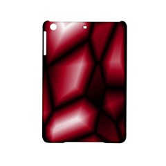 Red Abstract Background iPad Mini 2 Hardshell Cases