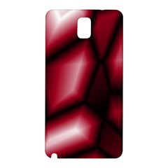 Red Abstract Background Samsung Galaxy Note 3 N9005 Hardshell Back Case