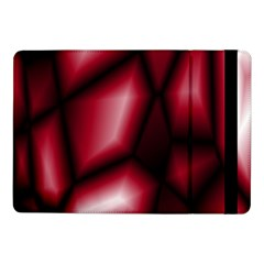 Red Abstract Background Samsung Galaxy Tab Pro 10.1  Flip Case