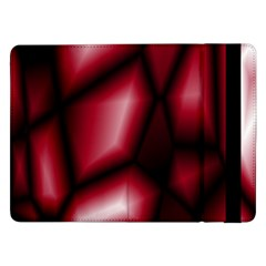 Red Abstract Background Samsung Galaxy Tab Pro 12.2  Flip Case