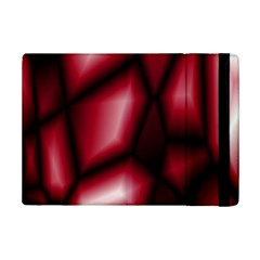 Red Abstract Background iPad Mini 2 Flip Cases