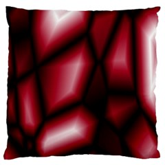 Red Abstract Background Standard Flano Cushion Case (One Side)