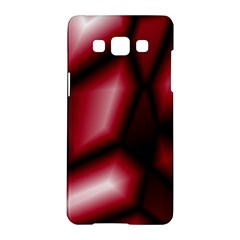 Red Abstract Background Samsung Galaxy A5 Hardshell Case