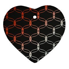 Cadenas Chinas Abstract Design Pattern Ornament (heart)