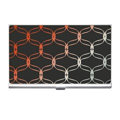 Cadenas Chinas Abstract Design Pattern Business Card Holders