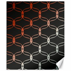 Cadenas Chinas Abstract Design Pattern Canvas 20  X 24