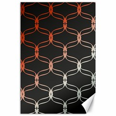 Cadenas Chinas Abstract Design Pattern Canvas 24  X 36