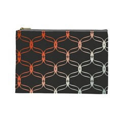 Cadenas Chinas Abstract Design Pattern Cosmetic Bag (large)