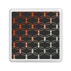 Cadenas Chinas Abstract Design Pattern Memory Card Reader (square)