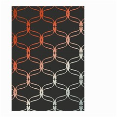 Cadenas Chinas Abstract Design Pattern Small Garden Flag (Two Sides)