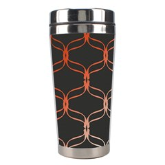 Cadenas Chinas Abstract Design Pattern Stainless Steel Travel Tumblers