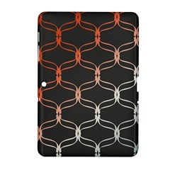 Cadenas Chinas Abstract Design Pattern Samsung Galaxy Tab 2 (10.1 ) P5100 Hardshell Case