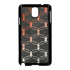 Cadenas Chinas Abstract Design Pattern Samsung Galaxy Note 3 Neo Hardshell Case (Black)