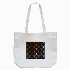 Cadenas Chinas Abstract Design Pattern Tote Bag (white)