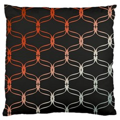 Cadenas Chinas Abstract Design Pattern Large Flano Cushion Case (One Side)