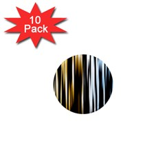 Digitally Created Striped Abstract Background Texture 1  Mini Magnet (10 Pack)