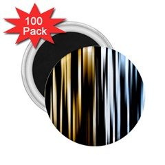 Digitally Created Striped Abstract Background Texture 2 25  Magnets (100 Pack)