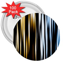 Digitally Created Striped Abstract Background Texture 3  Buttons (100 Pack)