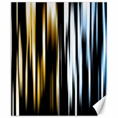 Digitally Created Striped Abstract Background Texture Canvas 8  x 10