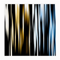 Digitally Created Striped Abstract Background Texture Medium Glasses Cloth (2 Side)