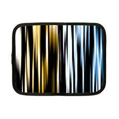 Digitally Created Striped Abstract Background Texture Netbook Case (small)