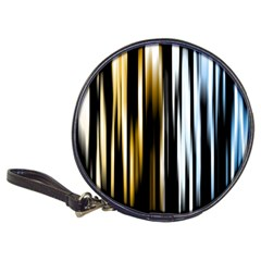 Digitally Created Striped Abstract Background Texture Classic 20 Cd Wallets